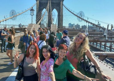 Jazz singers @ Brooklyn Bridge 2017